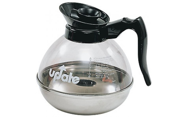 Plastic and Stainless Decanter