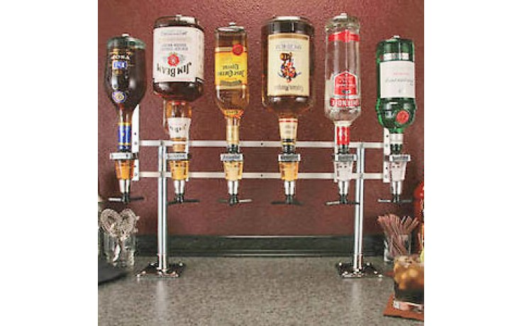 In-Line Counter Mount w/Meter Liquor Dispensing System