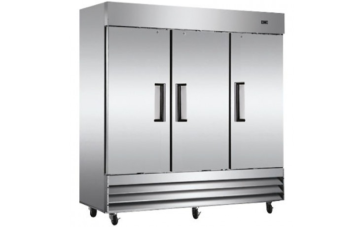 3 Door 72 Cu. Ft. Reach-In Freezer