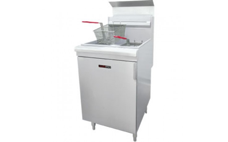 50lbs. Capacity Gas Floor Fryer