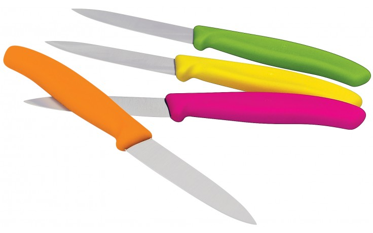 Colored Handle Paring Knife