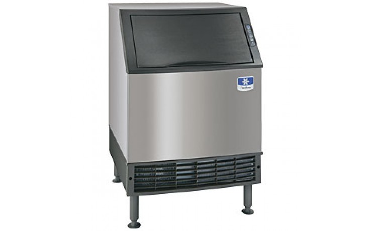 """26"""" Wide 130 lbs. Production 90 lbs. Bin Capacity Undercounter Ice Maker - Air Cooled Half Dice"""