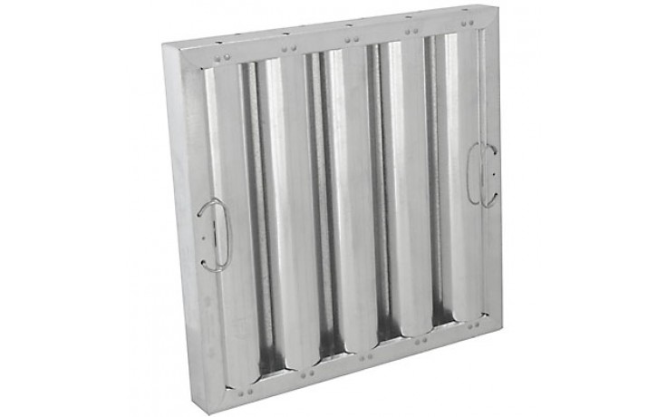 """16"""" H x 16"""" W Galvanized Baffle Grease Filter"""