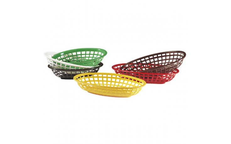 "7 3/4"" x 5 1/2"" x 1 7/8"" Classic Side Order Basket"