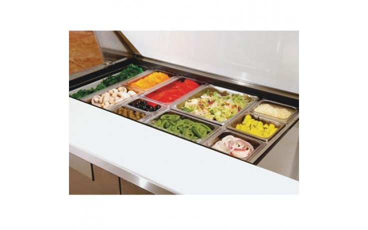 Mega Salad Prep Cabinet Spacer Bar