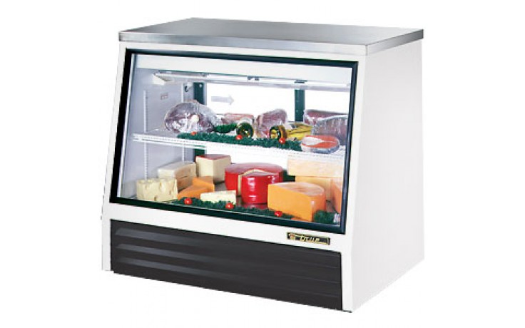 "48"" W 17 Cubic Ft Two Door Counter Height - Rear Serve"