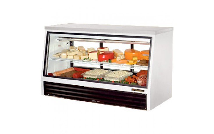"72 1/2"" W 25 Cubic Ft Two Door Counter Height - Rear Serve"