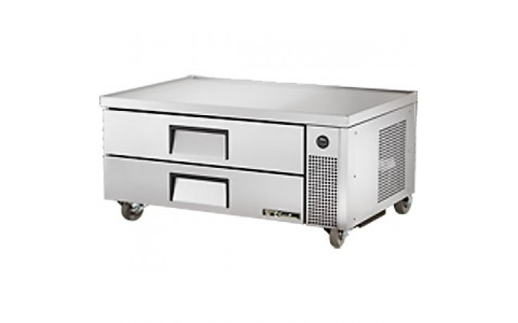 """51 3/4"""" W Two Drawer Six Pan Flush Top Refrigerated Chef Base"""
