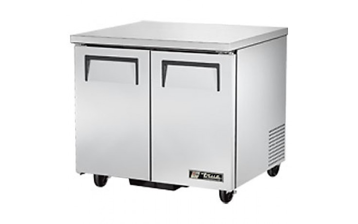 "36 3/8"" W 8.5 Cubic Ft Two Door Undercounter Refrigerator"