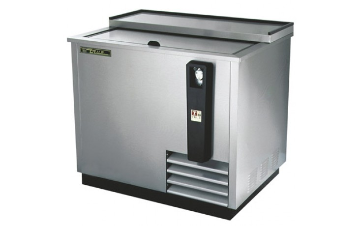 "36 3/4"" Wide Stainless Steel Exterior Bottle Cooler"