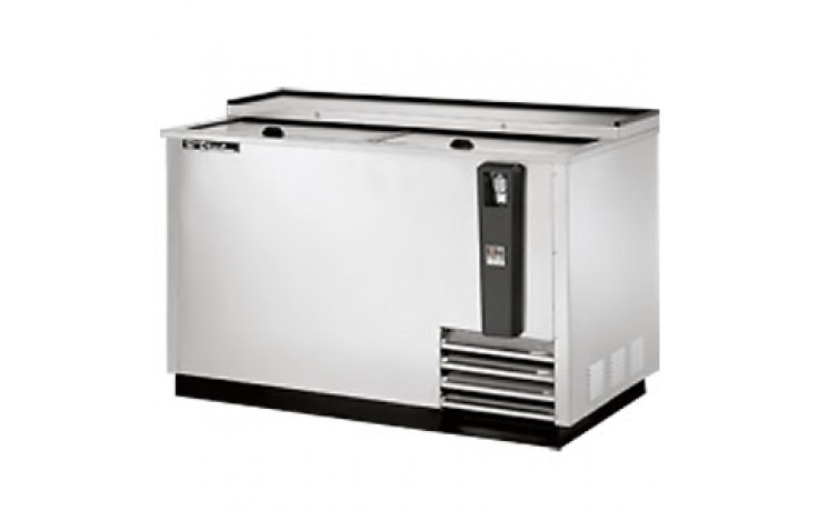 """50"""" Wide Stainless Steel Exterior Bottle Cooler"""