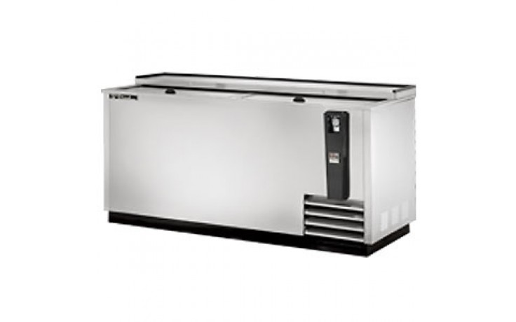 "65"" Wide Stainless Steel Exterior Bottle Cooler"