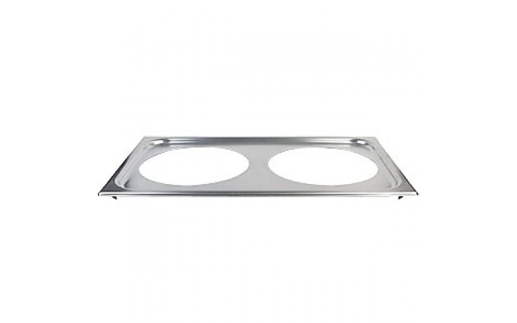 """Adapter Plate with (1) 6 3/8"""" and (1) 8 3/8"""" Openings"""