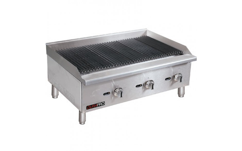 "24"" Manual Control Gas Charbroiler"