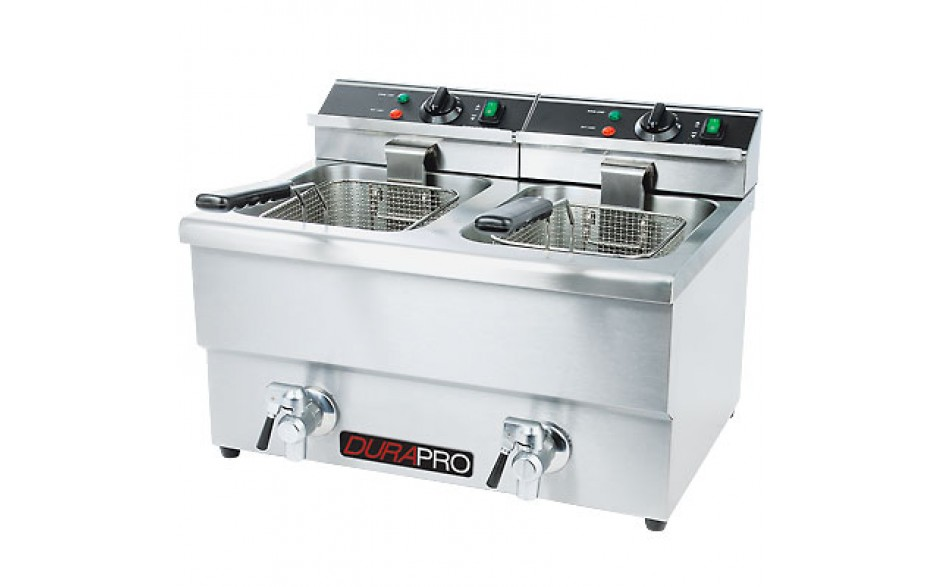 12 Liters Double Tank Electric Fryer