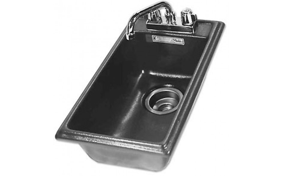 1 Well A.B.S. Drop-In Bar Sink