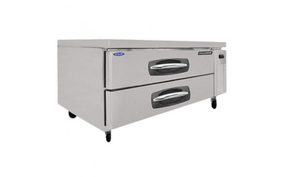 "53"" W Two Drawer Six Pan Refrigerated Chef Base"