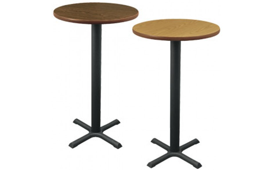 """24"""" Round Complete Double-Sided Stand-Up Table"""