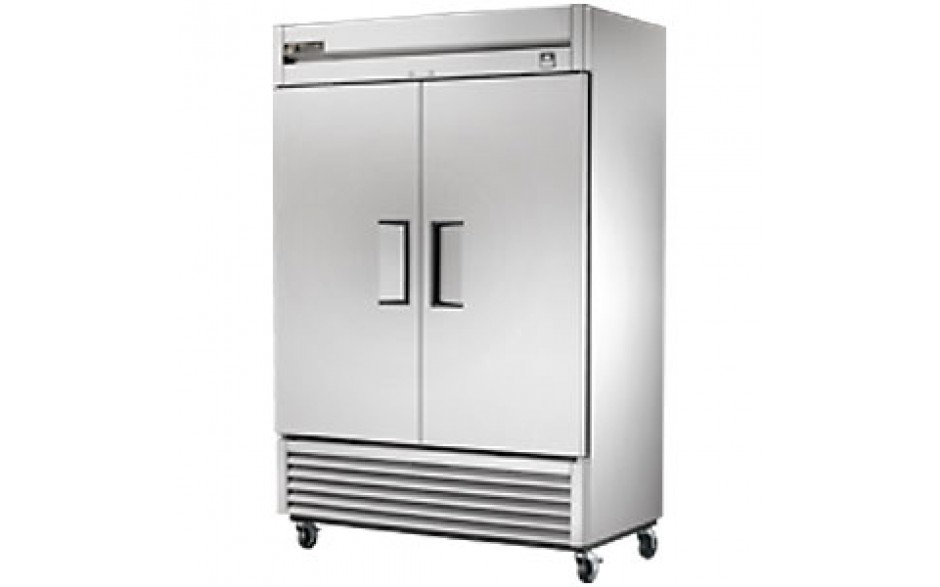 49 Cubic Ft Two Swing Door Refrigerator - All Stainless Steel