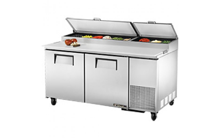 "67"" W Two Door Pizza Preparation Table"