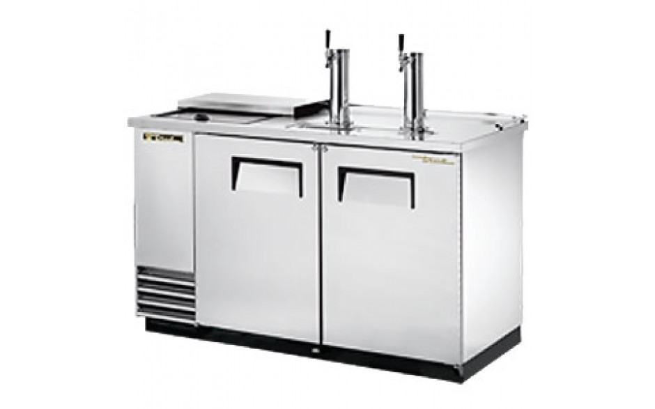 """59"""" Wide Club Top Direct Draw Beer Dispensers – Stainless Steel"""