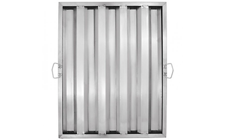 """20""""W x 25""""H x 1 1/2""""D Value Baffle Grease Filter"""