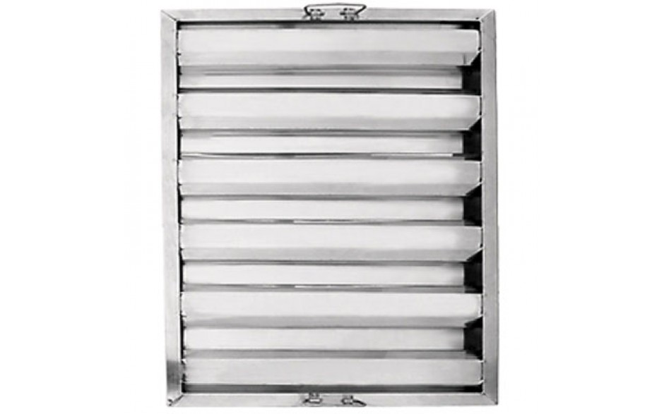 """25""""W x 20""""H x 1 1/2""""D Value Baffle Grease Filter"""