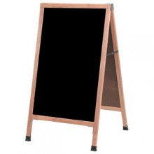 "42"" H x 24"" W A-Frame Oak Wood Board"