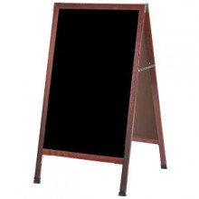 "42"" H x 24"" W A-Frame Cherry Wood Board"