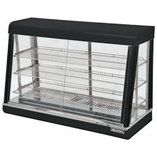 "47 1/4"" L x 20 3/8"" W x 31 1/4"" H Heated Display Case"