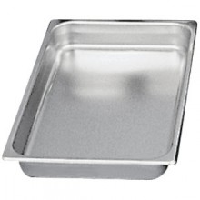 "20 3/4"" x 12 3/4"" x 2 1/2"" Full Size Steam Table Pan"