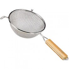 "12"" Diameter Heavy Duty Double Mesh Strainer"