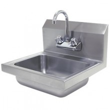 20 Gauge 304 Series Stainless Steel One Piece Hand Sink