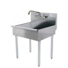 Stainless Steel Mop Sink with Faucet