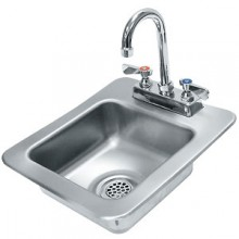 "9"" x 9"" x 5"" Bowl Countertop Hand Sink"