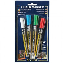 4 Pack Assorted Color Markers
