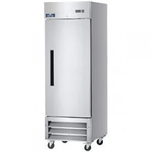 23 Cubic Ft One Door Reach-In Refrigerator - 33°F to 41°F