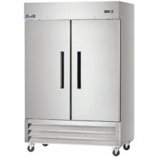 49 Cubic Ft Two Door Reach-In Refrigerator - 33°F to 41°F