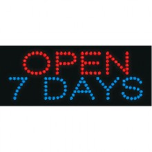 LED - OPEN 7 DAYS
