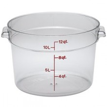 12 Quart Round Storage Container