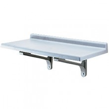 "36"" W x 14"" D Slotted Wall Shelf Kit"