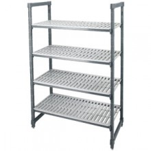 "48"" W x 18"" D x 72"" H Camshelving™ Elements Series Complete Shelving Set"