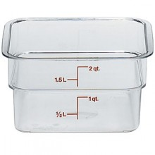 2 Quart CamSquare® Food Storage Container