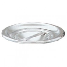 "1.25 Quart 4 1/8"" Diameter Stainless Steel Bain Marie Cover"