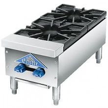 "12"" W 2 Burner Gas Hot Plate"