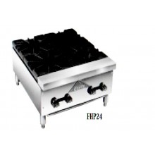 "24"" W 4 Burner Gas Hot Plate"