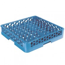 "Plate/Tray with 2 1/4"" Pegs Opticlean™ Dish Rack"