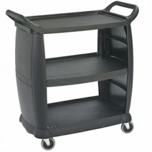 "36 1/4"" x 18"" Small Bussing Cart"