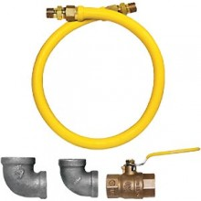 "36""L Countertop Equipment Gas Connector"