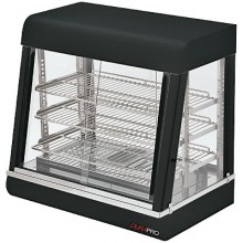 "26L"" x 18.5""W x 25.25""H 1500 Heated Display Case"